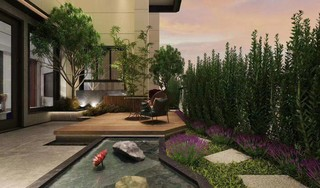 格林绿城,户户有空中花园,挑高6米南北通透一梯一户尊享