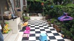 丽景花园一楼带花园  精装修三居室
